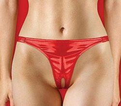 תחתון סקסי עם פתח